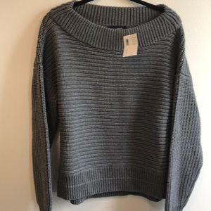 Intermix off the shoulder sweater.